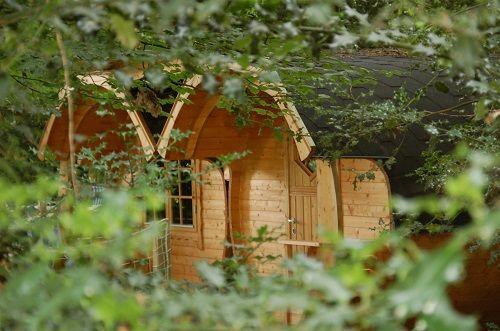 Les baricanes de Roc Aventure du camping du Domaine du Roc