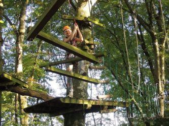 Parcours Marmotte Roc Aventure camping Domaine du Roc Morbihan