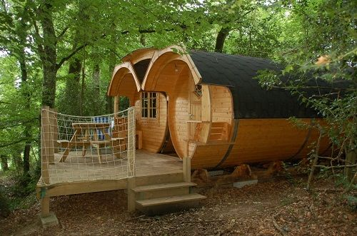 Les cabanes insolites de Roc Aventure du camping du Domaine du Roc